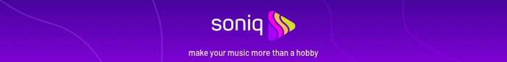 Banner: Soniq™ - Make your music more than a hobby.